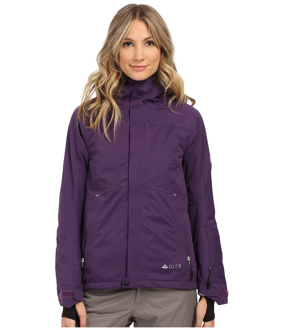 686 - GLCR Aura Jacket (Violet Diamond Dobby) Women