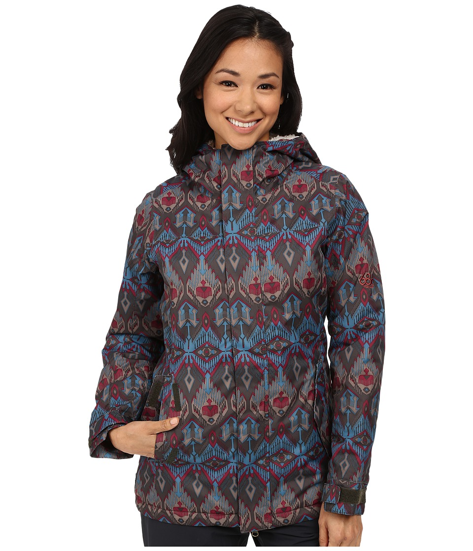 686 - Authentic Paradise Insulated Jacket (Coffee Deco) Women