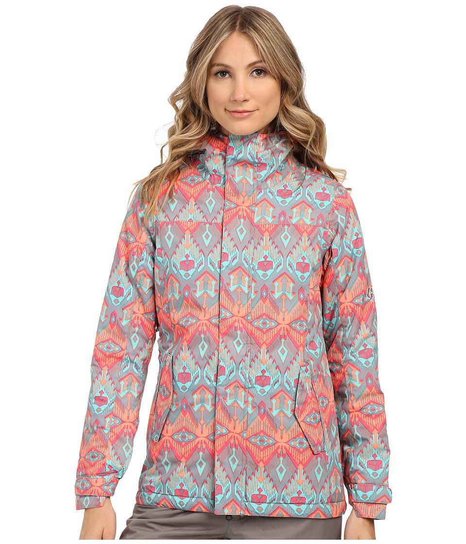 686 - Authentic Paradise Insulated Jacket (Grey Deco) Women