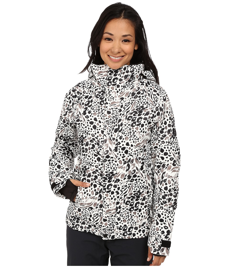 686 - Authentic Smarty Catwalk Jacket (Grey Animal Print) Women's Coat