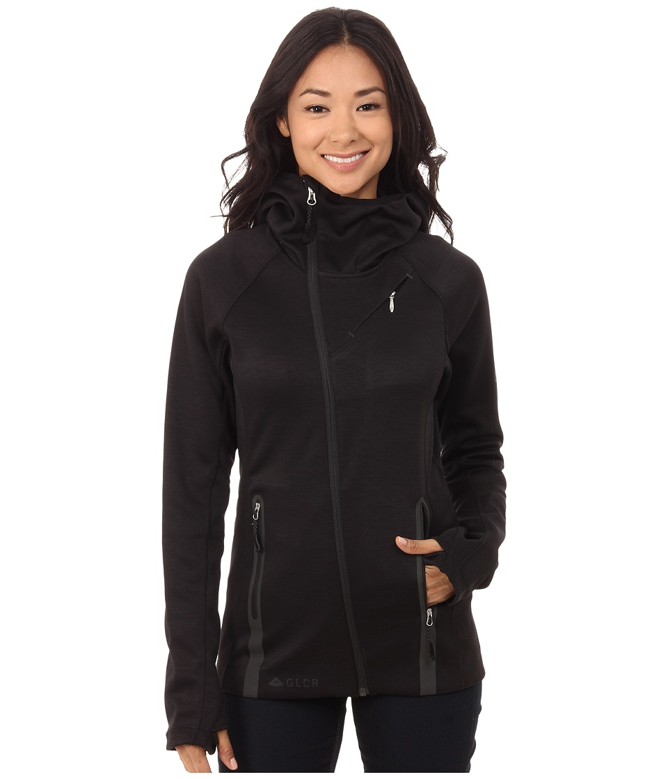686 - GLCR Tarot Tech Fleece (Black) Women's Fleece