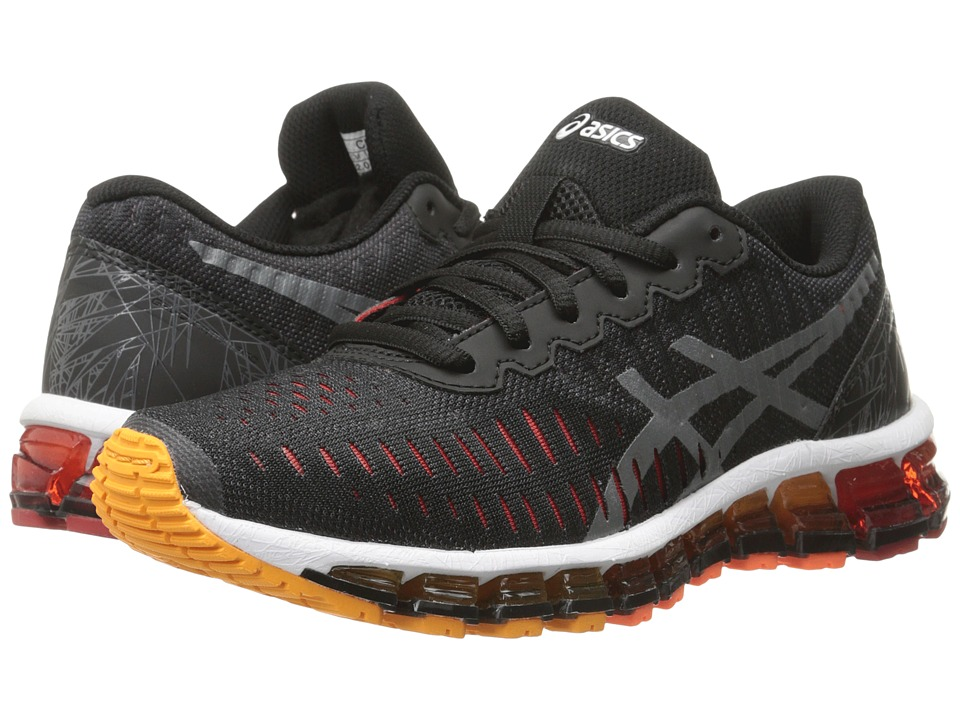 ASICS Kids - Gel-Quantum 360 GS (Little Kid/Big Kid) (Black/Carbon/Red) Boys Shoes