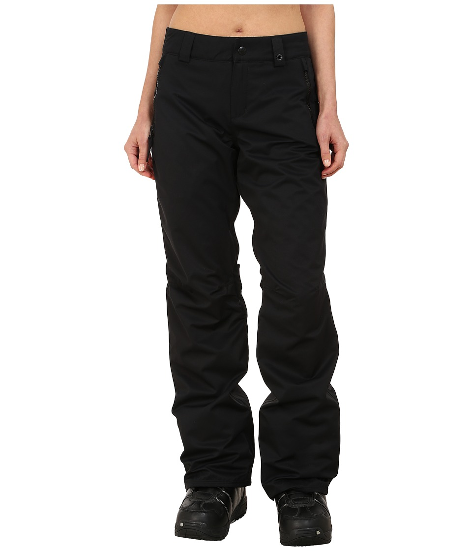 686 - Authentic Standard Pant (Black Diamond Dobby) Women's Outerwear