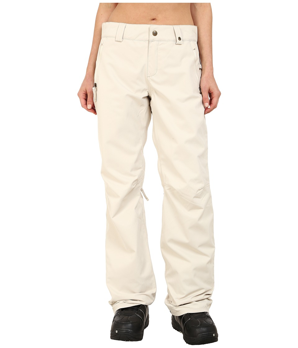 686 - Authentic Standard Pant (Ivory Diamond Dobby) Women's Outerwear