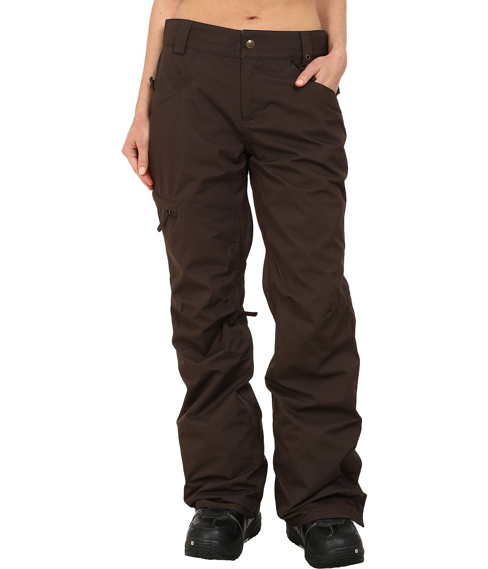 686 - Authentic Patron Insulated Pants (Coffee Herringbone) Women
