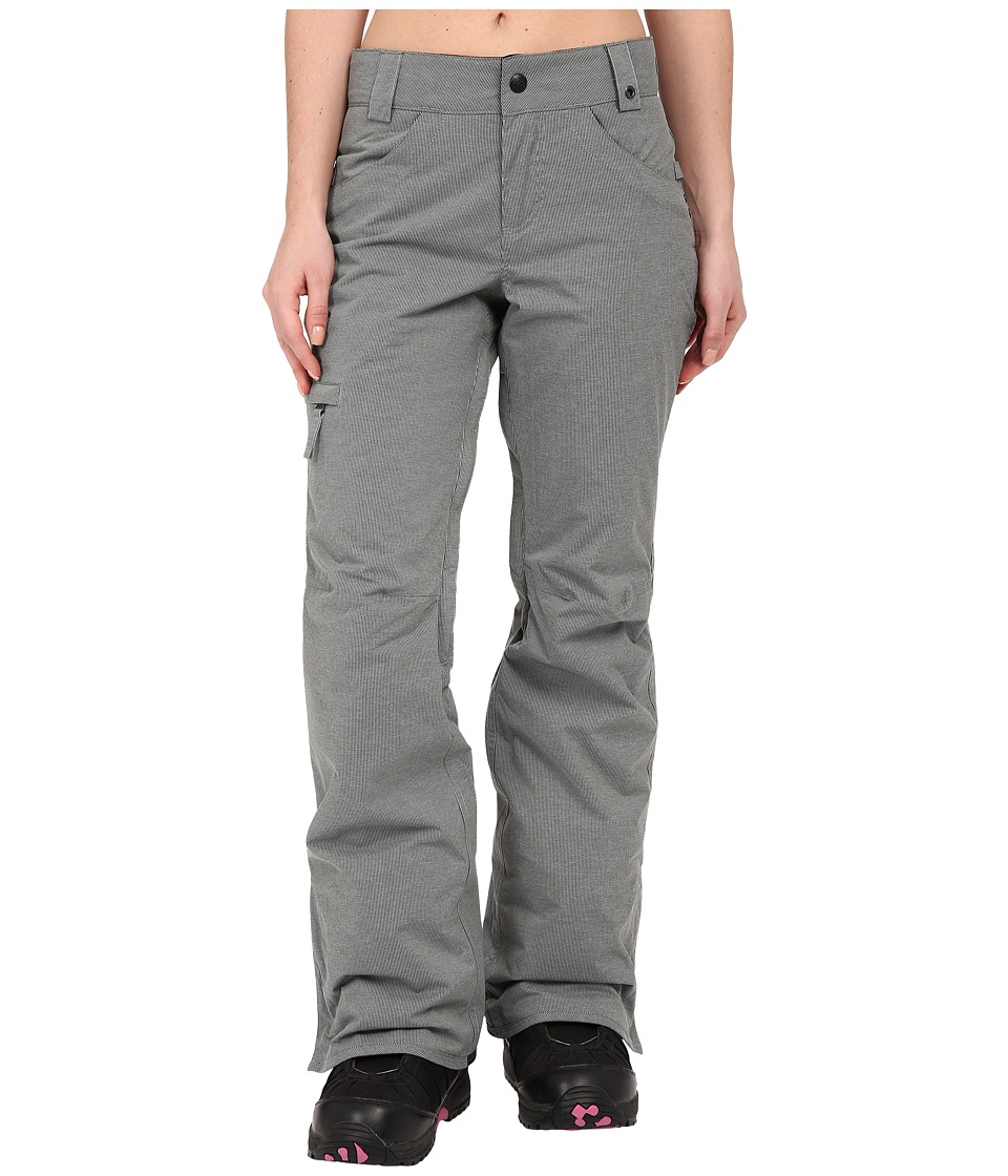 686 - Authentic Patron Insulated Pants (Grey Herringbone) Women's Casual Pants