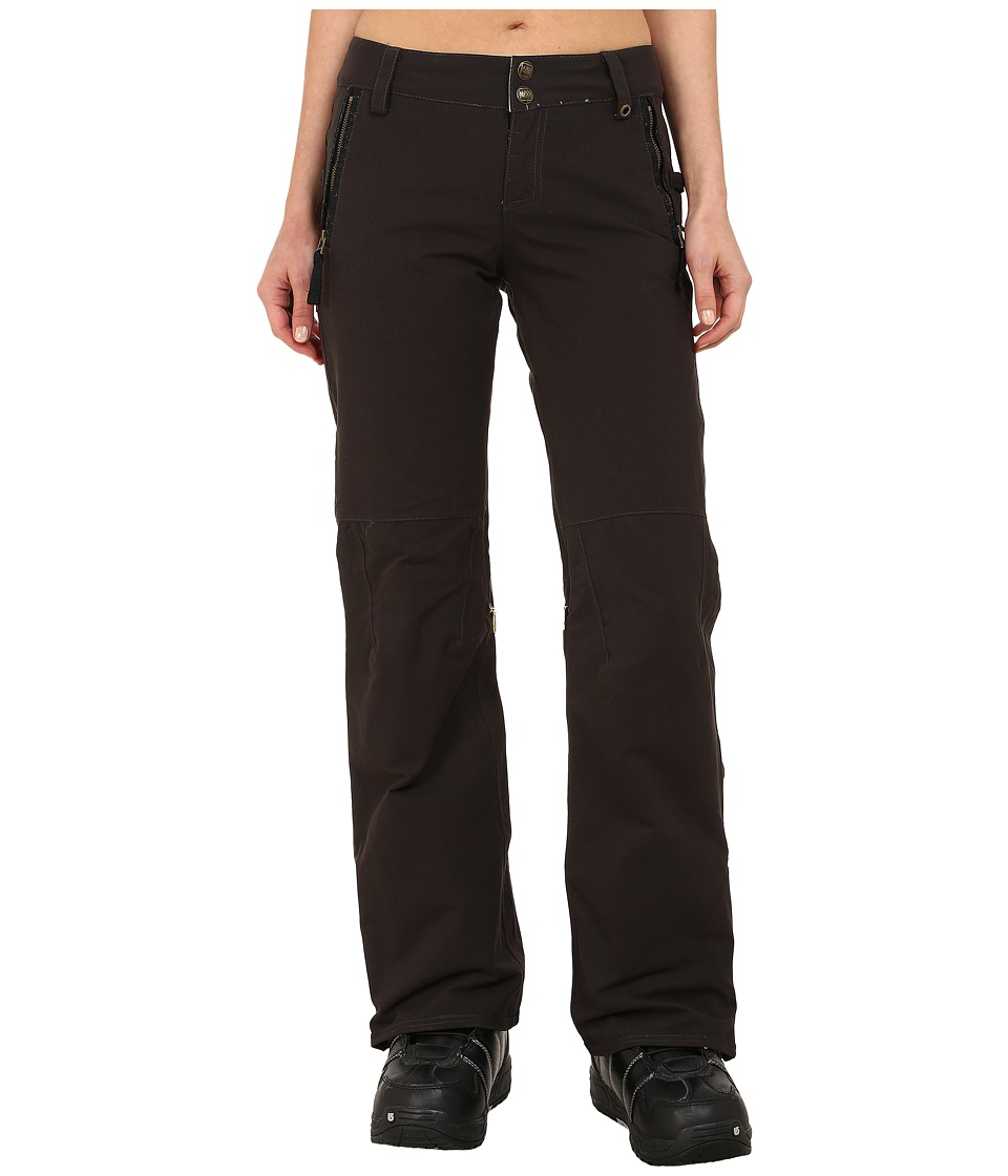 686 - Parklan After Dark Pants (Coffee Ripstop) Women's Casual Pants