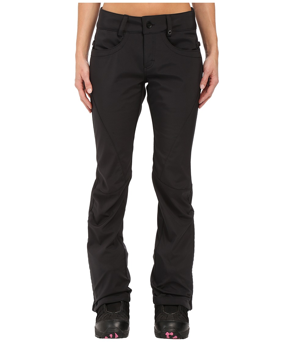 686 - Authentic Gossip Softshell Pants (Black) Women's Casual Pants