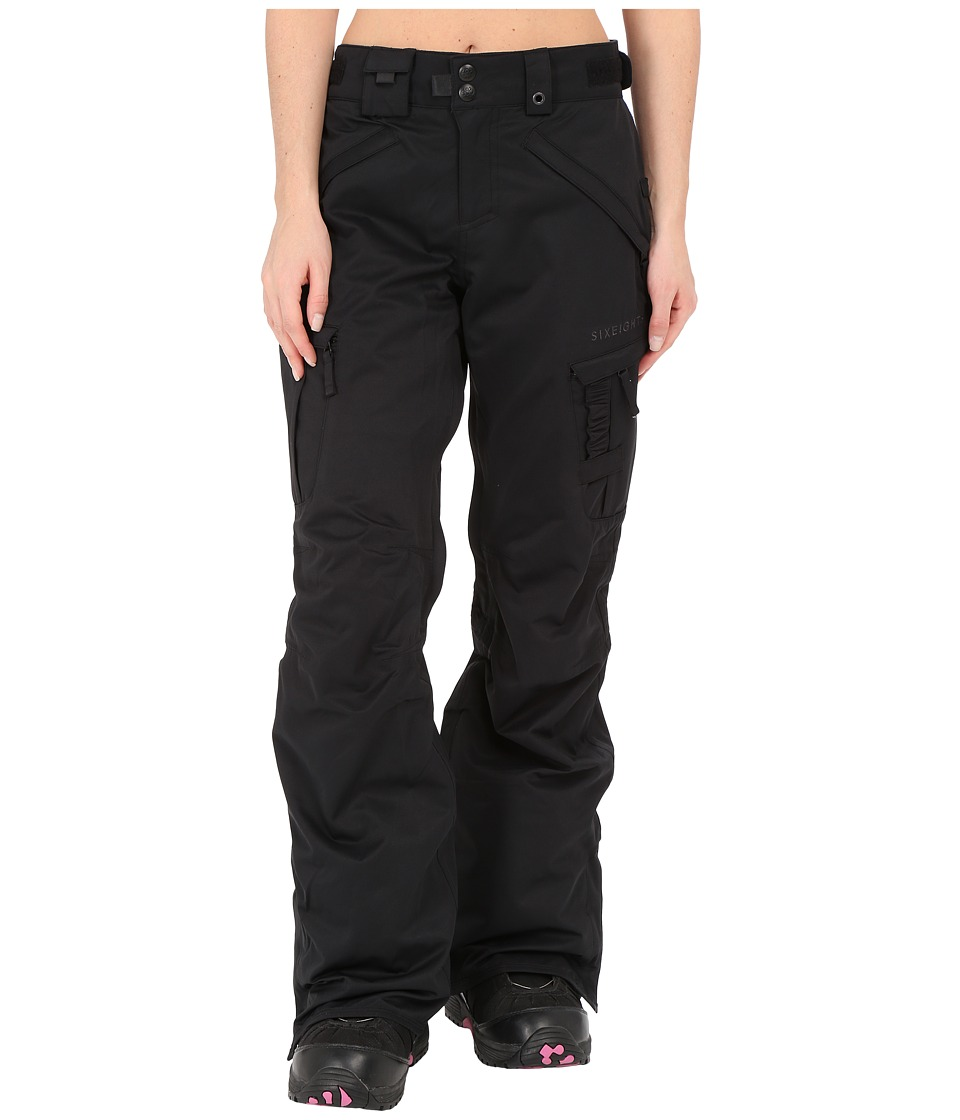 686 - Authentic Smarty Cargo Pant (Black Diamond Dobby) Women's Outerwear