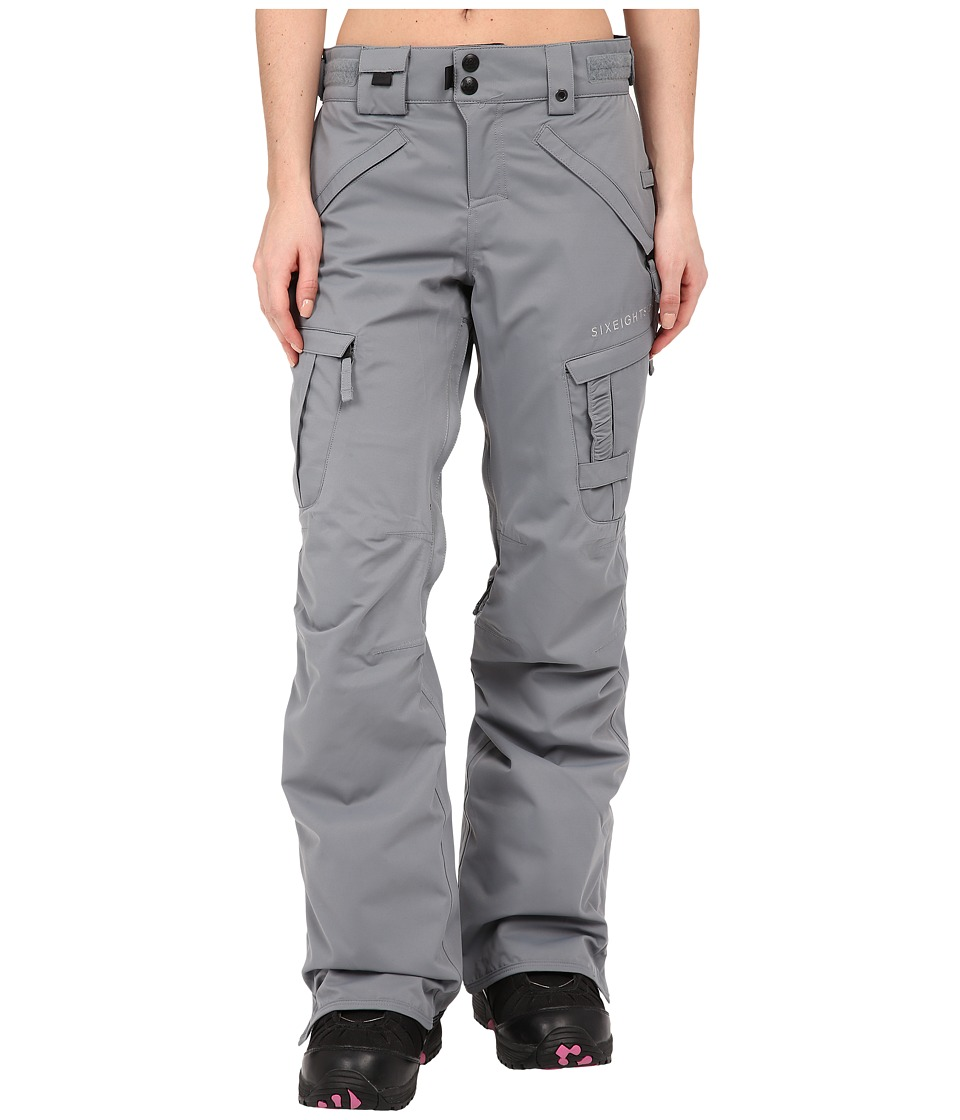686 - Authentic Smarty Cargo Pant (Grey Diamond Dobby) Women's Outerwear