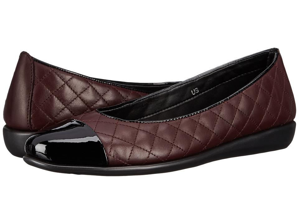 The FLEXX - Rise A Smile (Merlot/Black Cashmere/Patent) Women's Shoes
