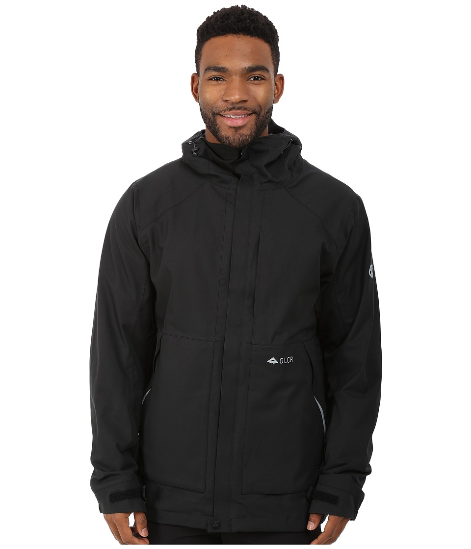 686 - GLCR Vector Jacket (Black) Men's Coat