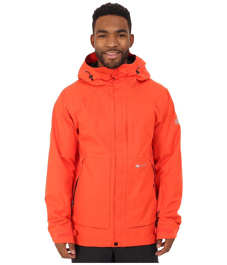 686 - GLCR Vector Jacket (Burnt Orange) Men's Coat