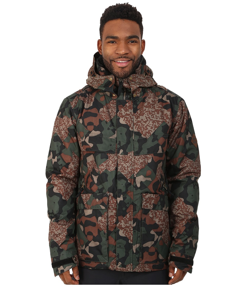 686 - Parklan Field Insulated Jacket (Army Cubist Camo) Men's Coat