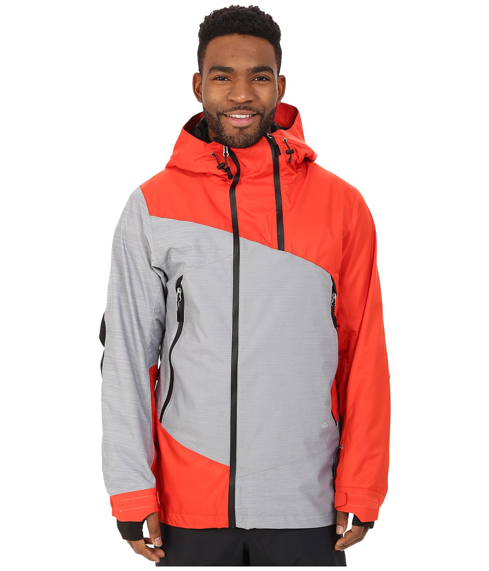 686 - GLCR Helix Thermograph Jacket (Burnt Orange Twill) Men's Coat