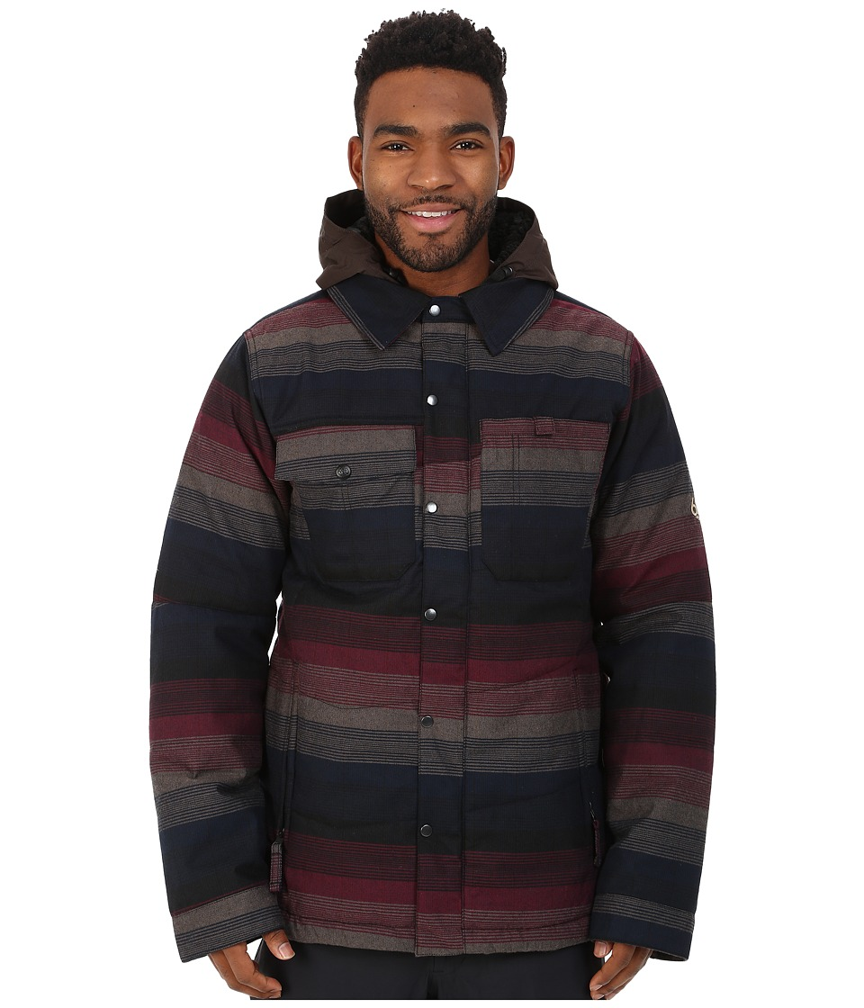 686 - Authentic Woodland Insulated Jacket (Black Yarn-Dye Plaid) Men's Coat