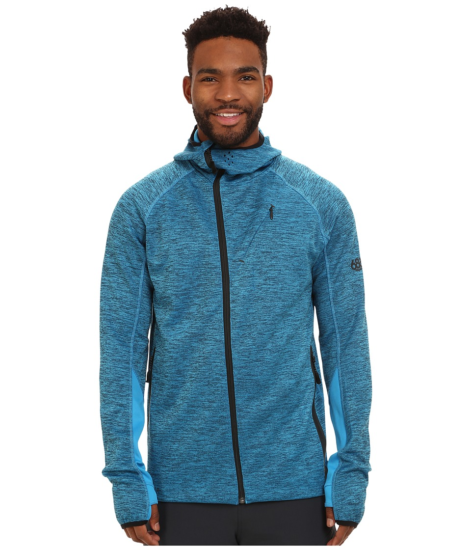 686 - GLCR Apogee Tech Zip Fleece (Blue) Men