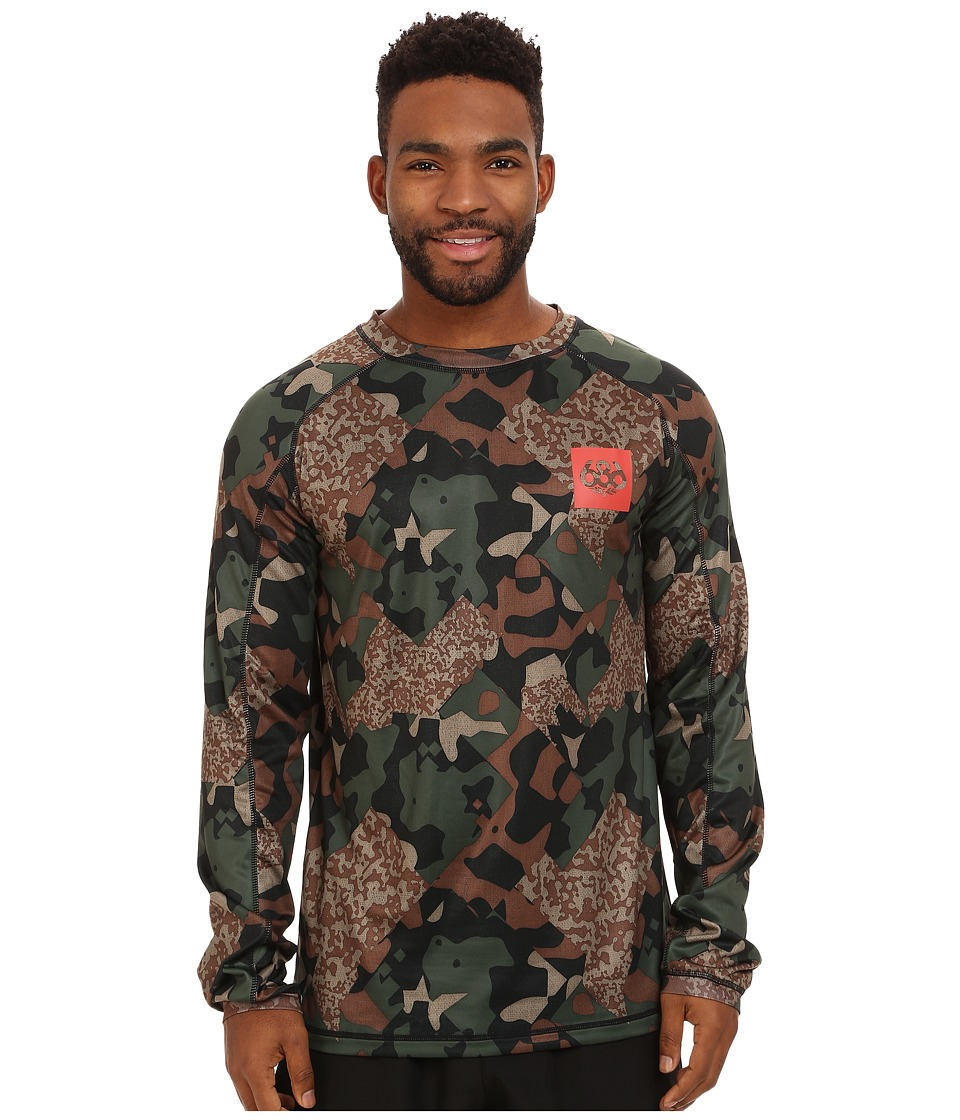 686 - Frontier First Layer Shirt (Hunter Cubist Camo) Men's Clothing