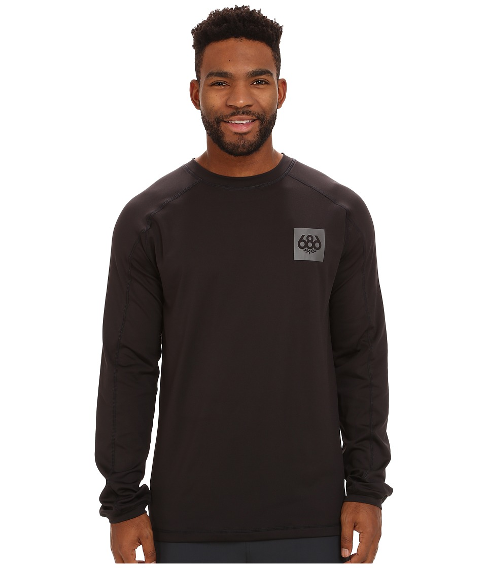 686 - Frontier First Layer Shirt (Black) Men's Clothing