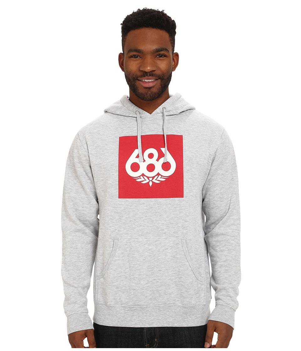 686 - Knockout Pullover Hoodie (Heather) Men