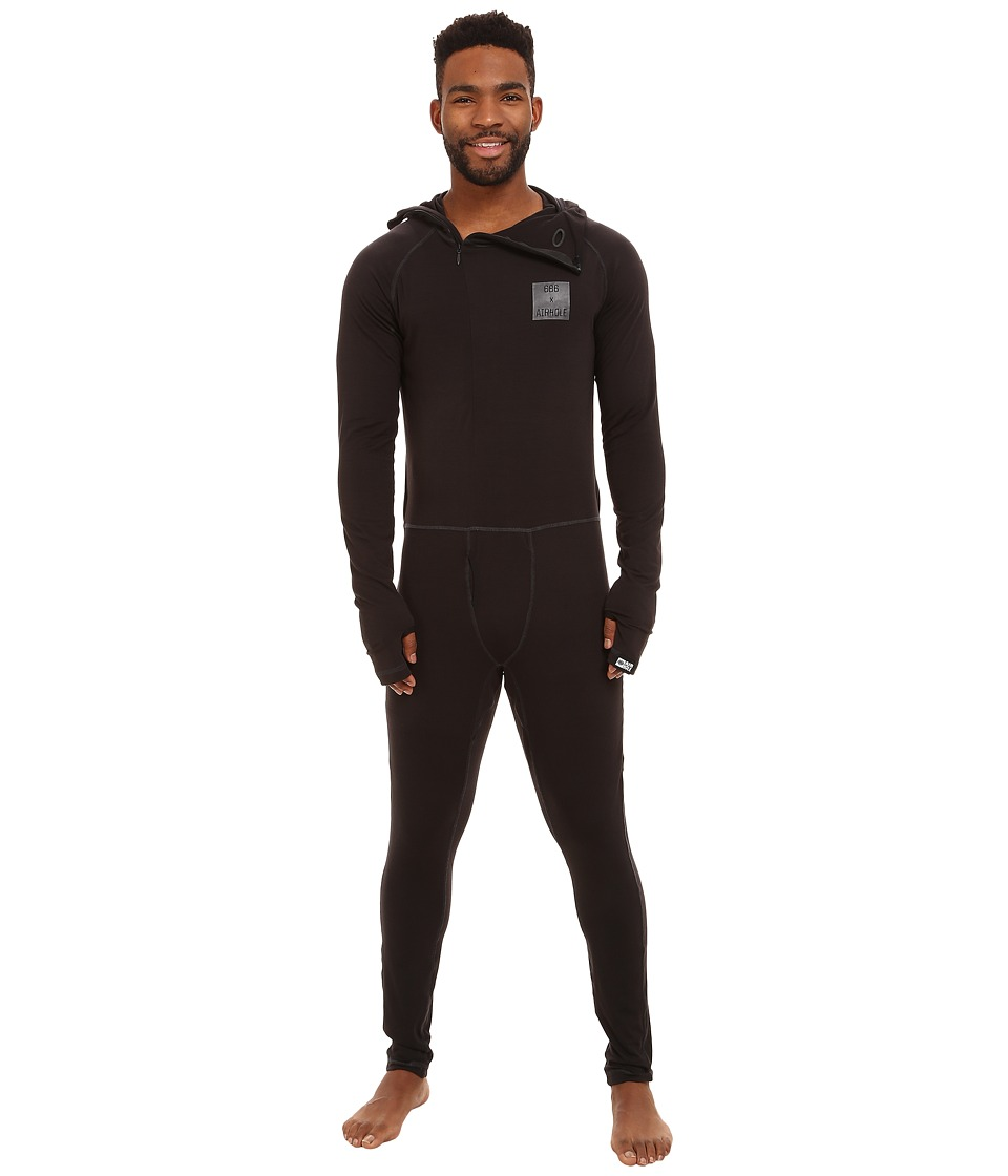 686 - Airhole Thermal One Piece (Black 1) Men's Snow Bibs One Piece