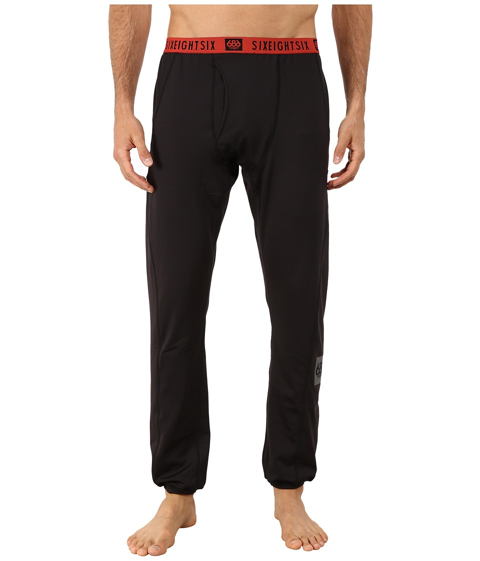 686 - Frontier First Layer Pants (Black) Men's Casual Pants