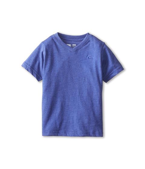 Quiksilver Kids - Daily Tee (Toddler/Little Kids) (Royal Blue Heather) Boy's T Shirt