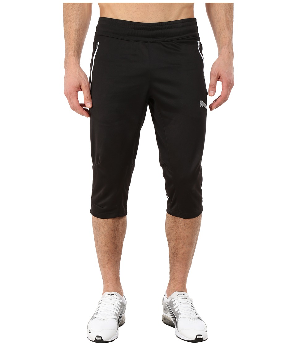 PUMA - Flicker Knicker (Black/White) Men's Shorts