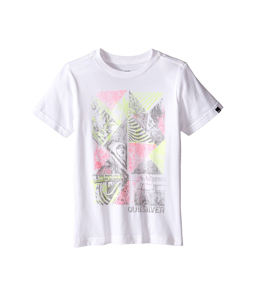 Quiksilver Kids - Blender (Toddler/Little Kids) (White) Boy