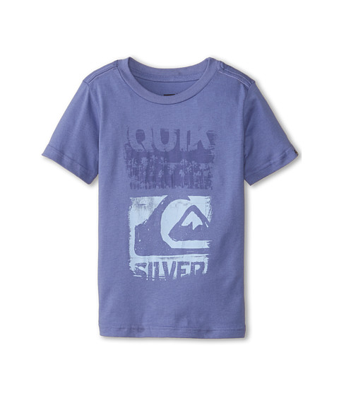 Quiksilver Kids - Scraped (Toddler/Little Kids) (Marlin) Boy's T Shirt