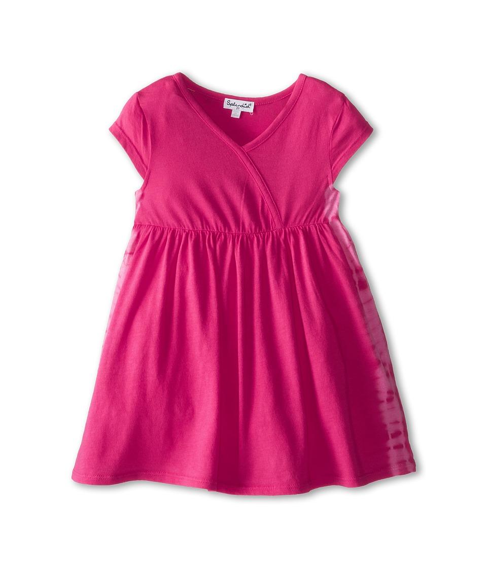 Splendid Littles - Tie-Dye Dress (Toddler) (Hot Pink) Girl