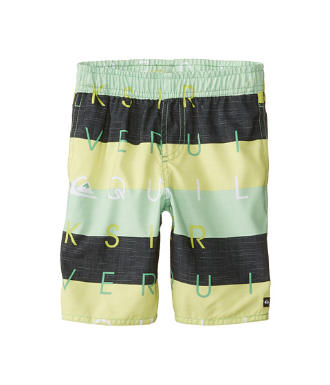 Quiksilver Kids - Letterpress VL (Toddler/Little Kids) (Shamrock) Boy