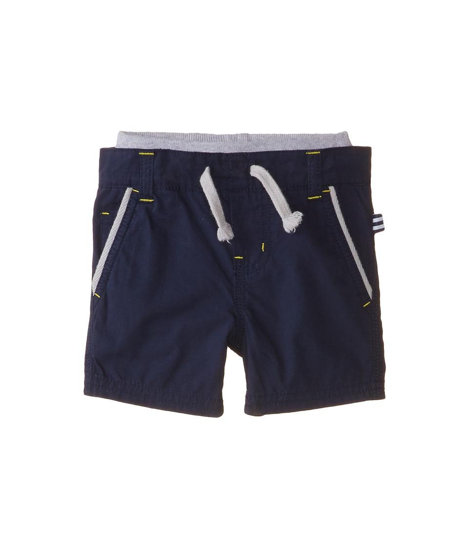 Splendid Littles - Poplin Pull On Shorts (Infant) (Navy) Boy's Shorts