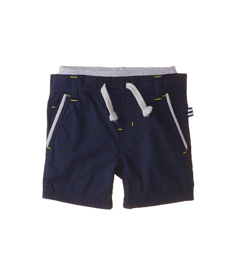 Splendid Littles - Poplin Pull On Shorts (Infant) (Navy) Boy