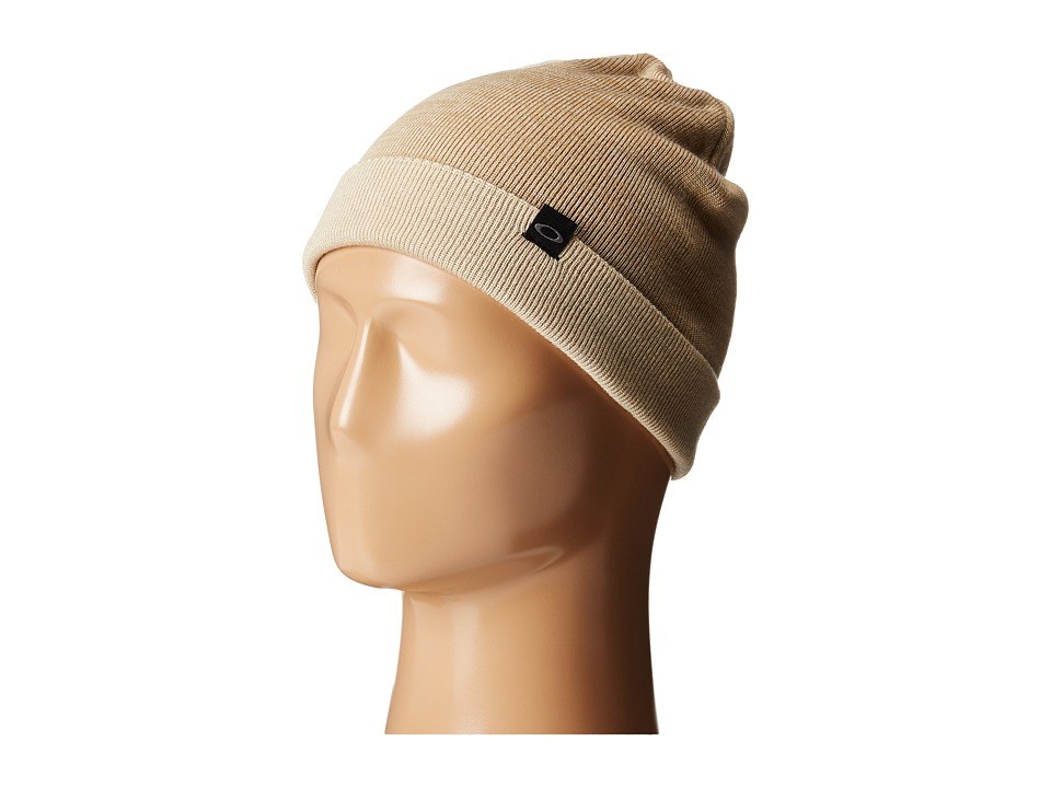Oakley - V Rock Beanie (Wood Gray) Beanies