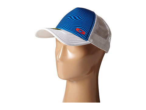 Oakley - Graphic Foam Trucker (Electric Blue) Caps