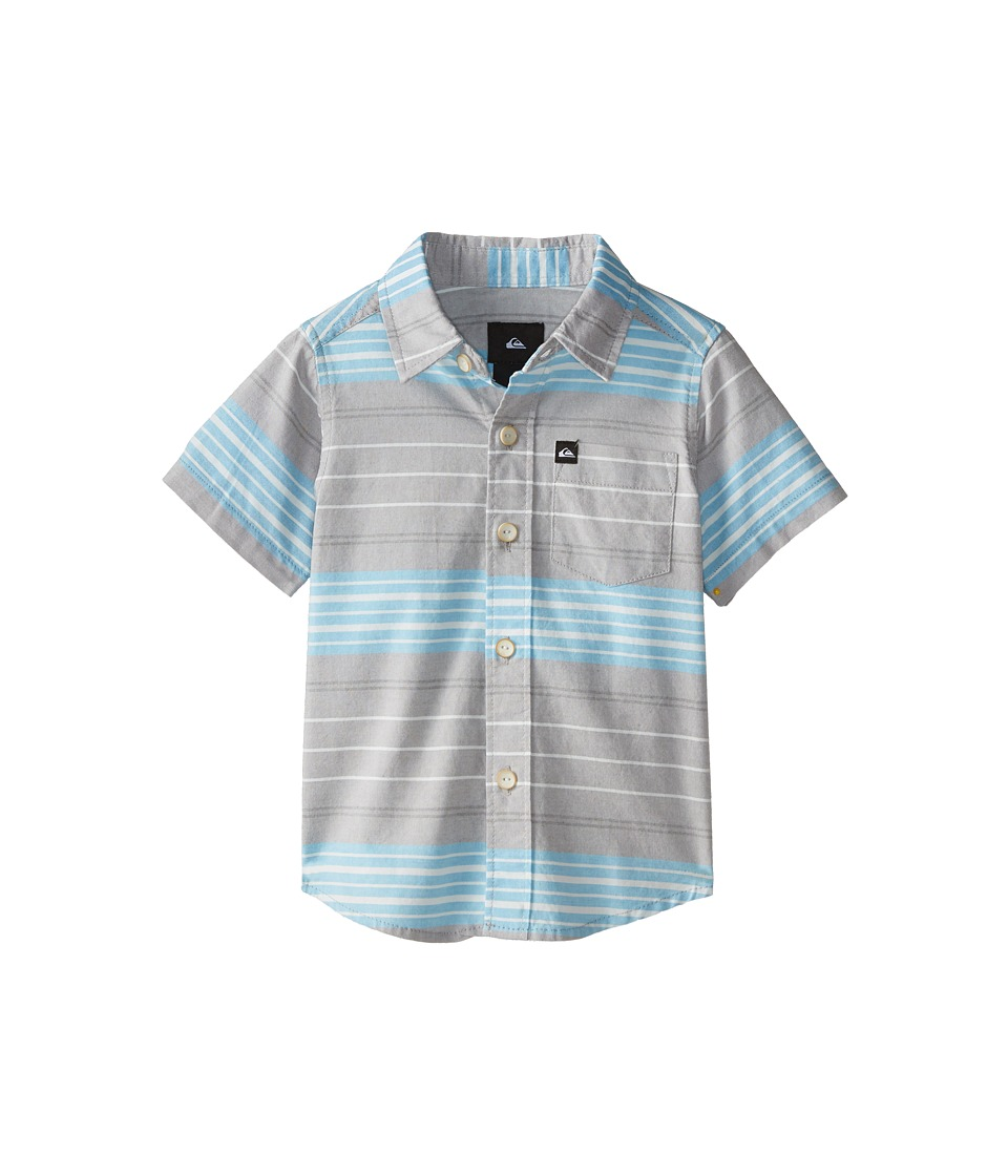 Quiksilver Kids - Barath Island (Toddler) (Steeple Grey) Boy