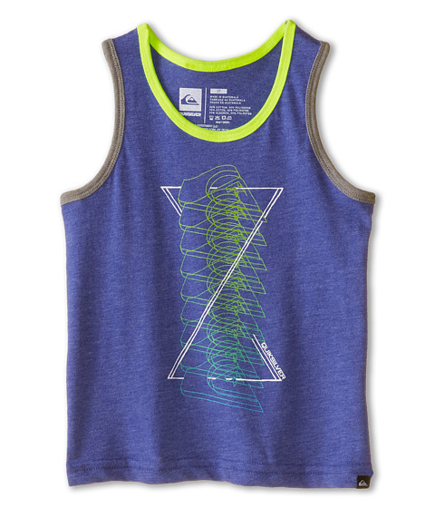 Quiksilver Kids - Linear Burn (Toddler) (Royal Blue Heather) Boy's Sleeveless