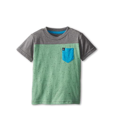 Quiksilver Kids - Blockwork (Infant) (Shamrock) Boy's T Shirt