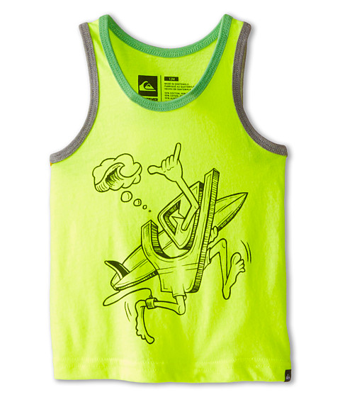 Quiksilver Kids - To The Beach (Infant) (Neon Yellow Heather) Boy's Sleeveless