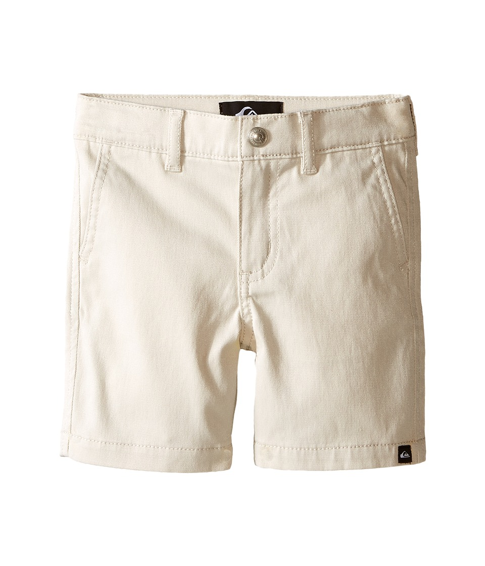 Quiksilver Kids - Union Chino Shorts (Infant) (Rainy Day) Boy's Shorts