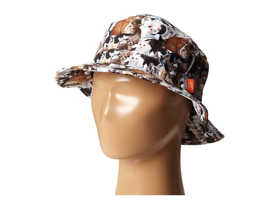 Vans - Vans X ASPCA Bucket Hat (Cats 2) Traditional Hats