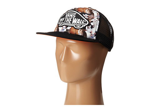 Vans - Beach Girl Trucker Hat (Cats 2) Caps