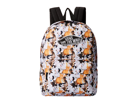 Vans - Realm Backpack (Cats 2) Backpack Bags