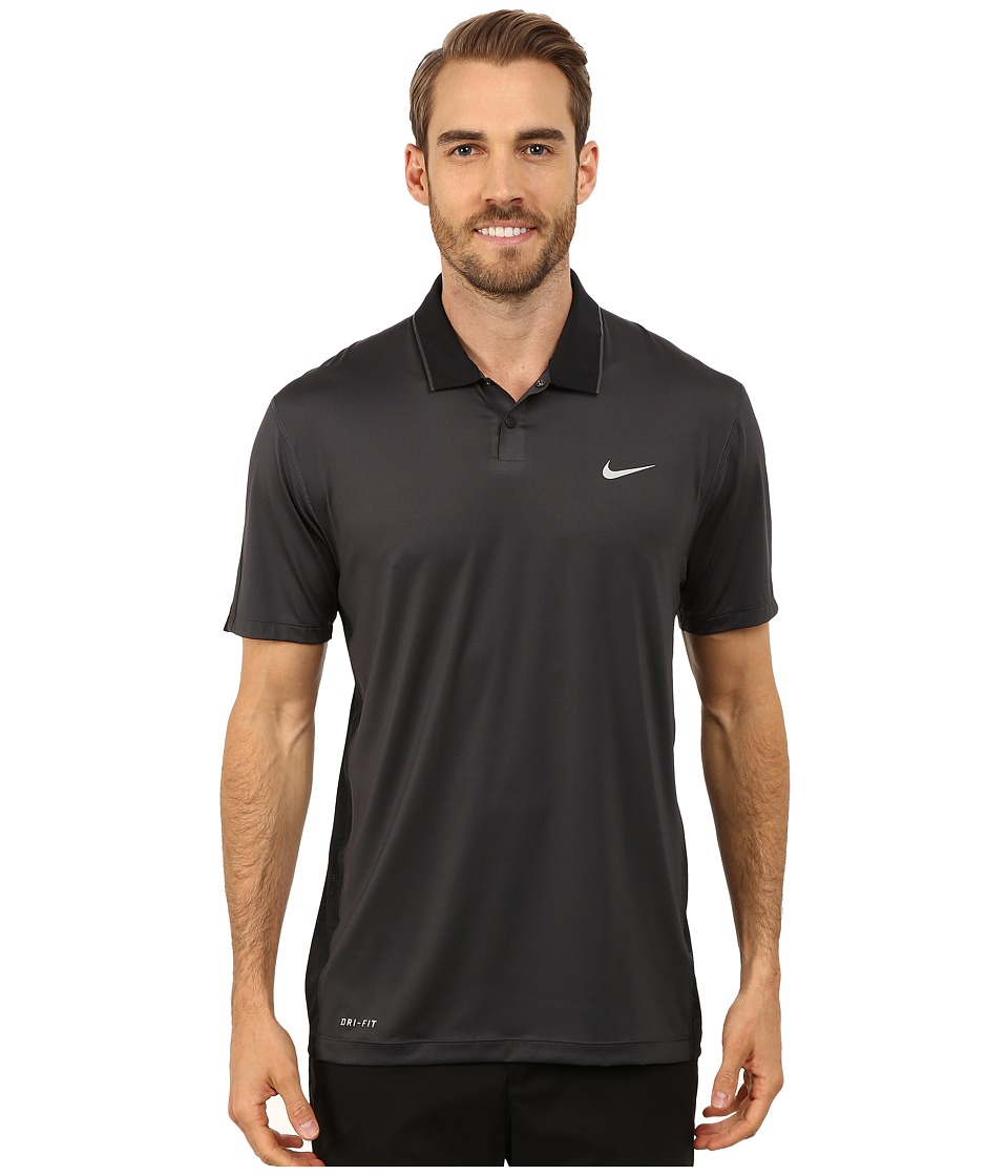 Nike Golf - Tiger Woods Kimono Body Map Polo Shirt (Anthracite /Black/Reflective Black/Reflective Silver) Men's Short Sleeve Pullover