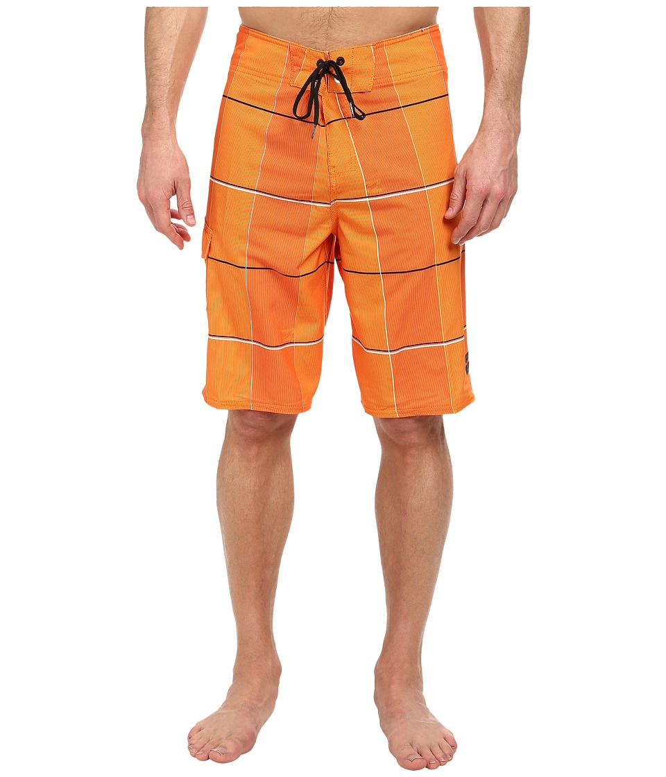Billabong - R U Serious Boardshort (Hot Mango) Men's Swimwear