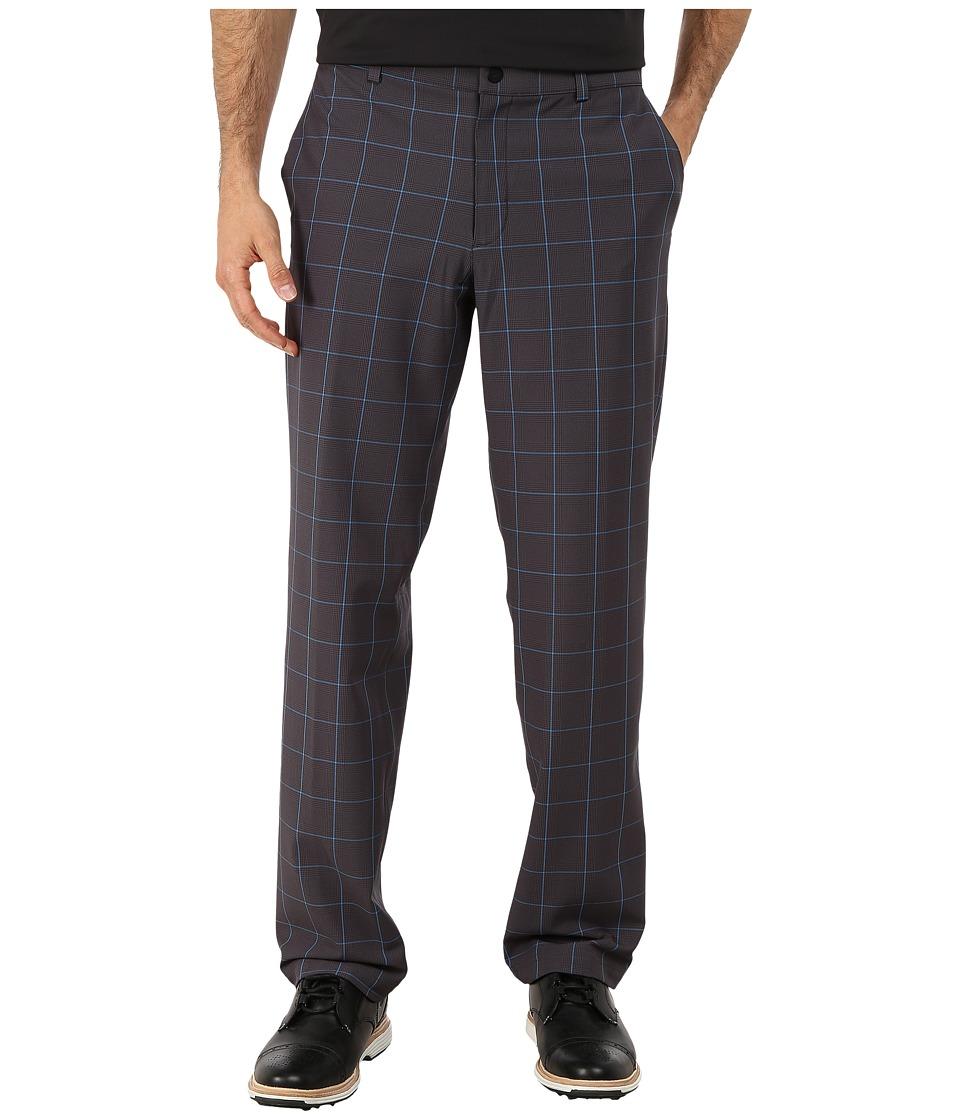 Nike Golf - Tiger Woods Weatherized Plaid Pants (Dark Grey/Photo Blue/Wolf Grey) Men's Casual Pants