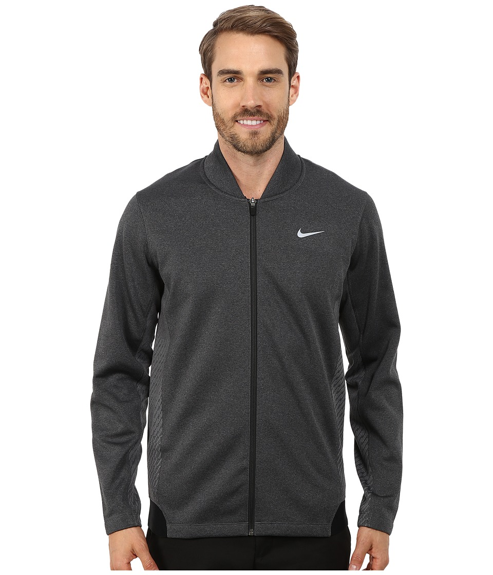 Nike Golf - Tiger Woods Hypervis Full-Zip Jacket (Black/Wolf Grey/Wolf Grey) Men's Coat