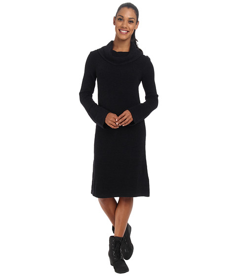 ExOfficio - Irresistible Caffe Dress (Black) Women
