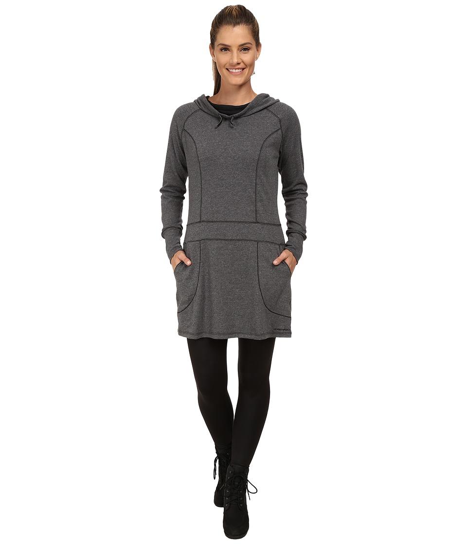 ExOfficio - Javana Hoodie Dress (Black) Women's Dress
